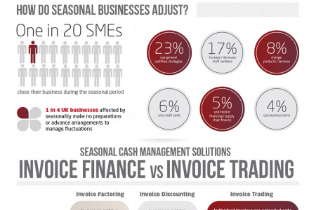 The Joys of Seasonal Business Infographic