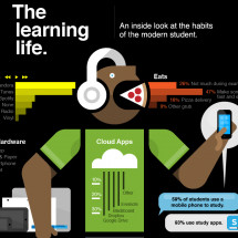 The Learner's Life Infographic