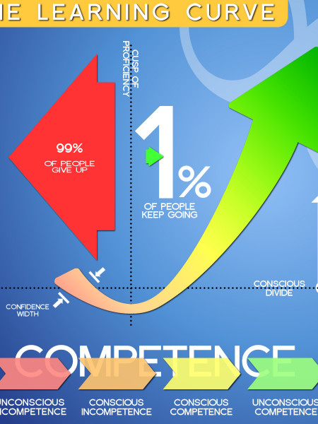 The Learning Curve Infographic