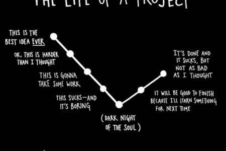 The Life of a Project Infographic