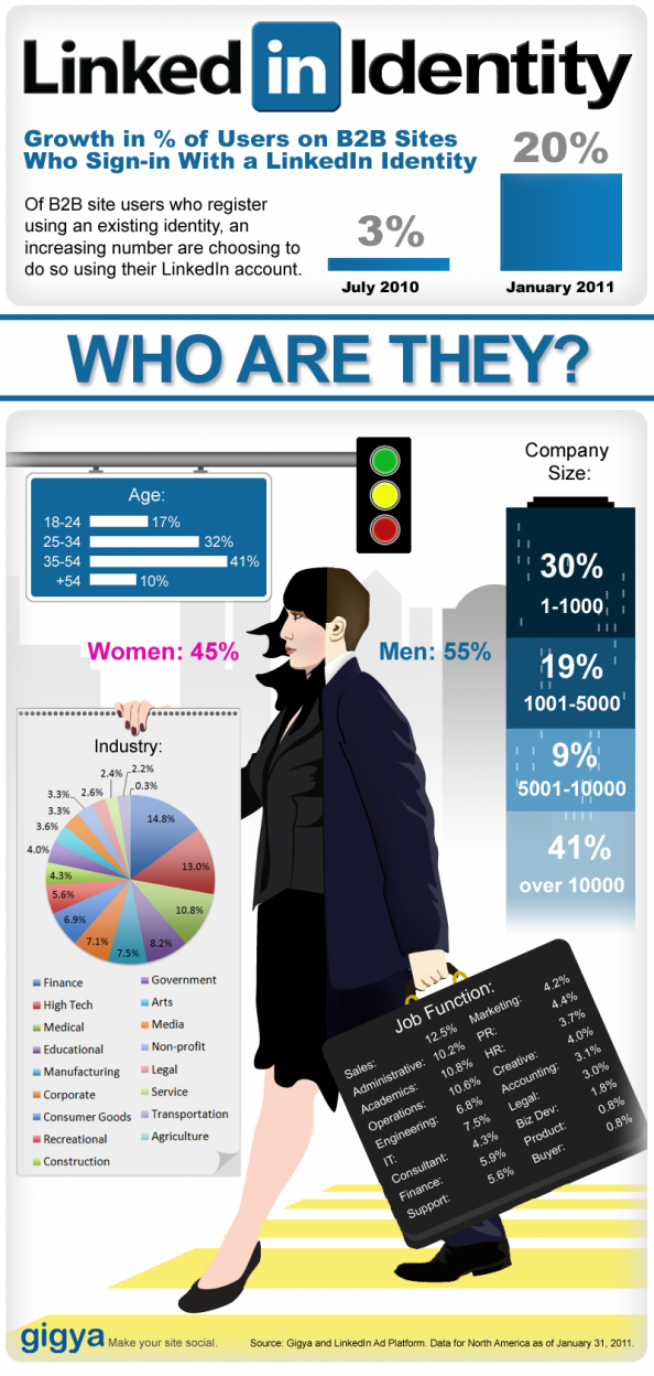 The LinkedIn Identity Infographic
