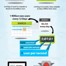 The LinkedIn Numbers  Infographic
