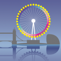 The London Eye: A 360-degree look at the world's most iconic ferris wheel Infographic
