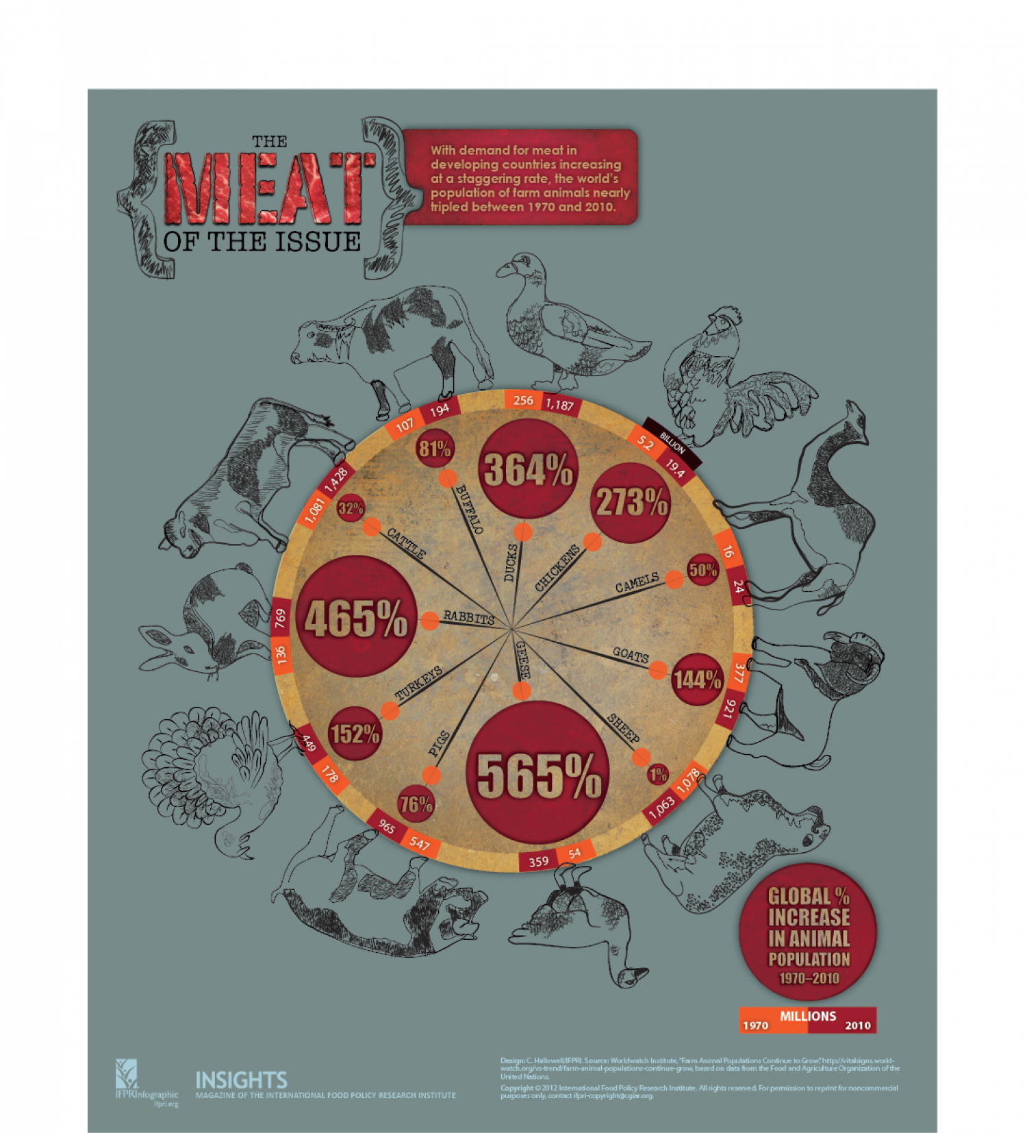 The Meat of the Issue Infographic