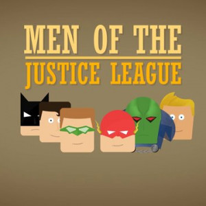 The Men of the Justice League