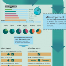 The Mobile Developer Journey Infographic