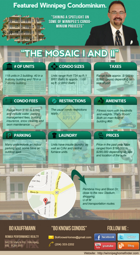 The Mosaic Condominiums Infographic