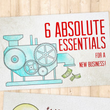 The Most Absolute Essentials For A New Business Infographic