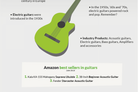 The Most Popular Musical Instruments Infographic