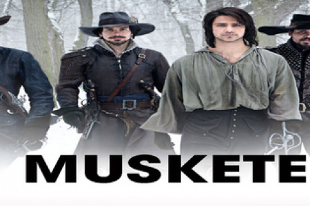 The Musketeers S01E01 Infographic