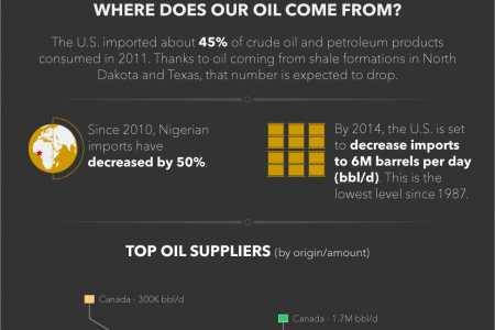 The myth and misunderstanding of foreign oil dependence Infographic