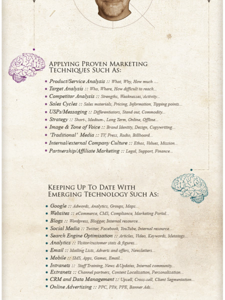 The New Marketing Brain Infographic
