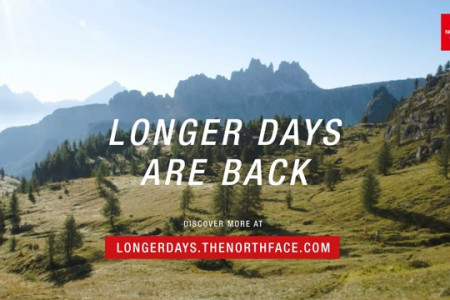 THE NORTH FACE - LONGER DAYS ARE BACK Infographic