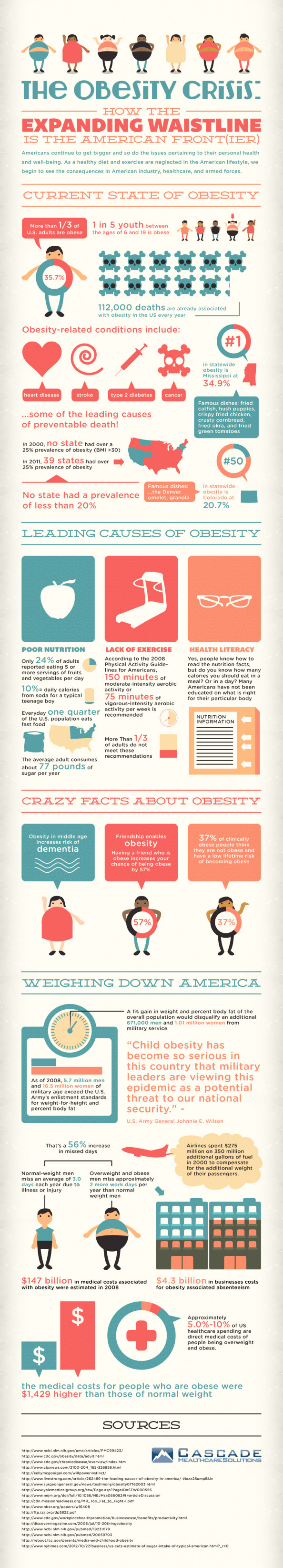 The Obesity Crisis Infographic
