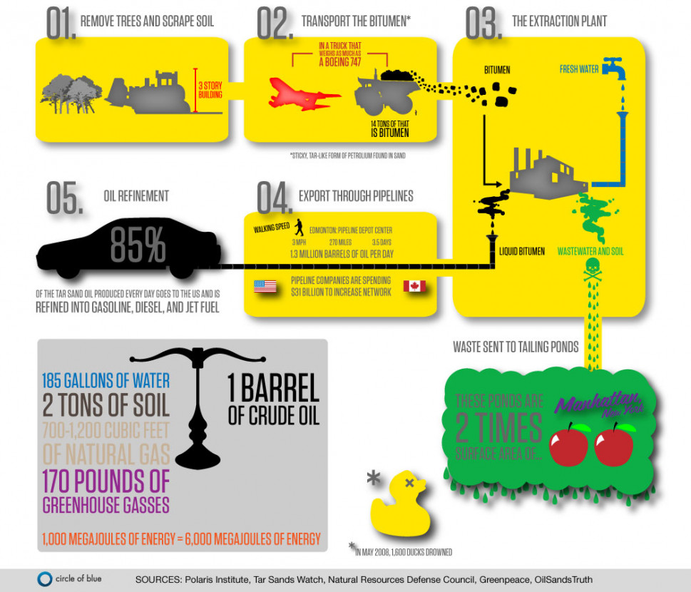 The Oil & Gas Industry  Infographic