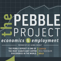 The Pebble Project: Economics & Employment Infographic