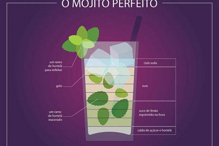 The Perfect Mojito Infographic