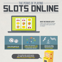 The Perks of Playing Slots Online Infographic