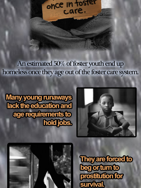 The Plight of Homeless Youth Infographic