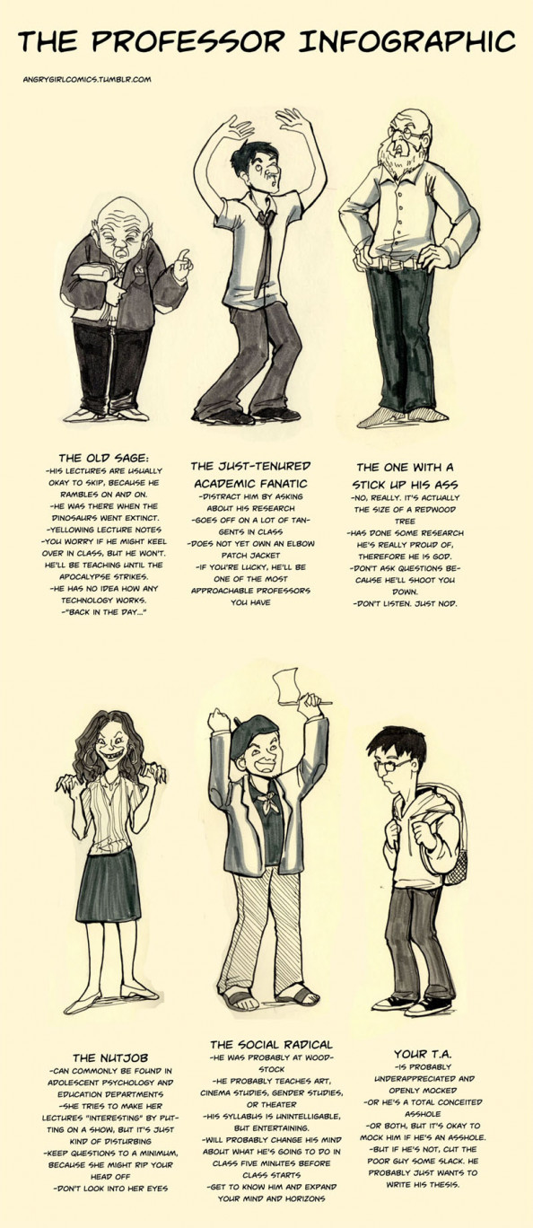 The Professor Infographic Infographic