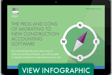 The Pros and Cons of Migrating to New Construction Accounting Software Infographic