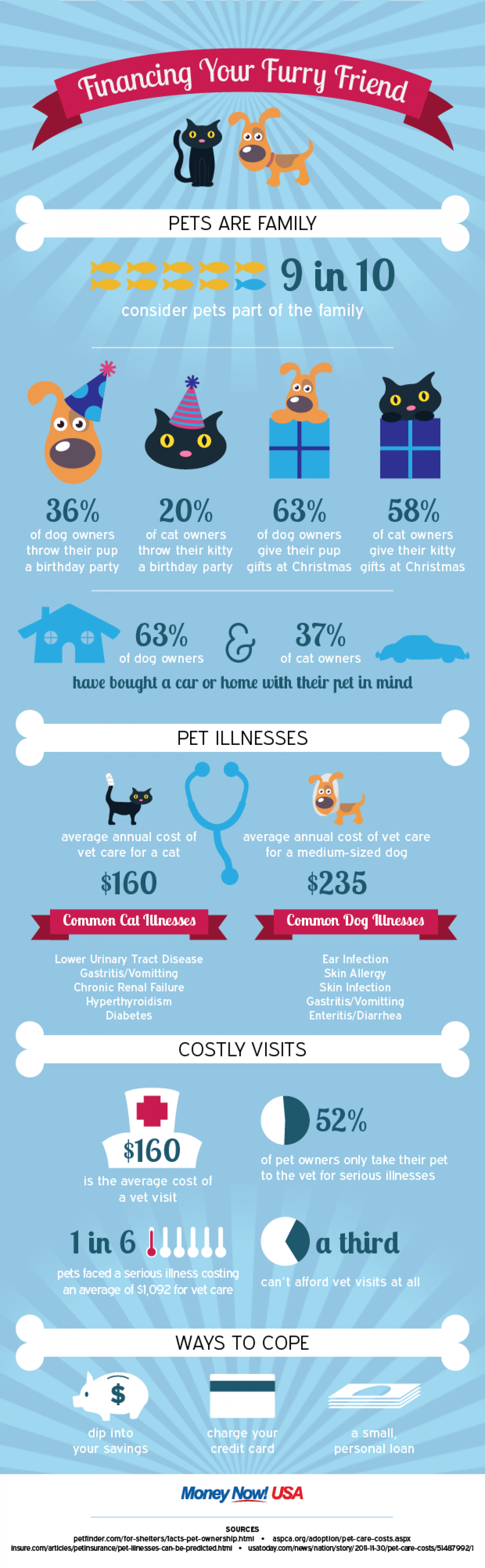 The Real Cost of Pet Ownership Infographic