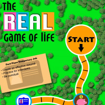 The REAL Game of Life Infographic