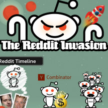 The Reddit Invasion Infographic