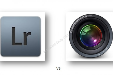 The Release of Adobe Photoshop Lightroom 6 Faces Competition Infographic