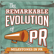 The Remarkable Evolution of PR Infographic