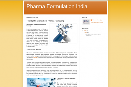 The Right Factors about Pharma Packaging  Infographic