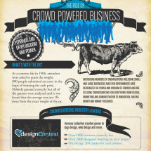 The Rise in Crowd Powered Business  Infographic