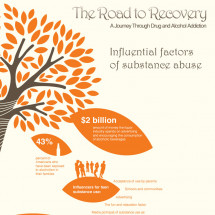 The Road to Recovery Infographic