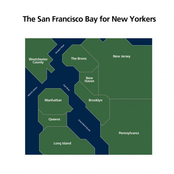 The San Francisco Bay for New Yorkers