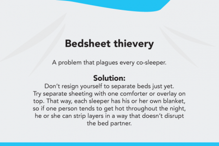 The Science Of Sleeping Together Infographic