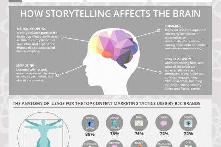The Science of Storytelling Infographic