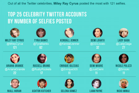 The #Selfie Phenomenon Infographic