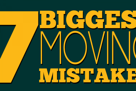 The Seven Biggest Moving Mistakes Infographic