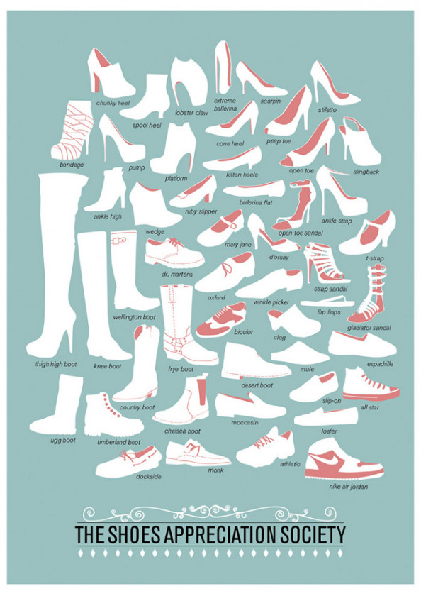 The Shoes Appreciation Society Infographic