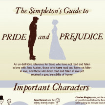 The Simpleton's Guide to Pride and Prejudice Infographic