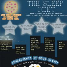 The Sleep Diet Infographic