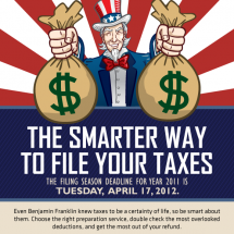 The Smarter Way To File Your Taxes Infographic