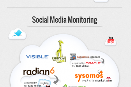 The Social Landscape Simplified for CMOs Infographic
