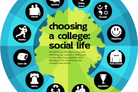 The Social Mind of the Student Infographic