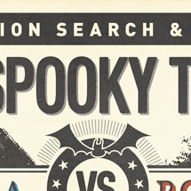 The Spooky Truth of Obama vs. Romney Online Infographic