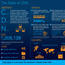 The State of CDN Infographic