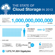 The State of Cloud Storage in 2013 Infographic