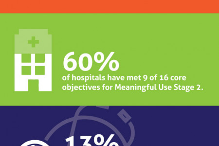 The State of Meaningful Use in Healthcare Infographic