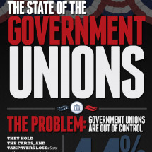 The State of the Government Unions Infographic