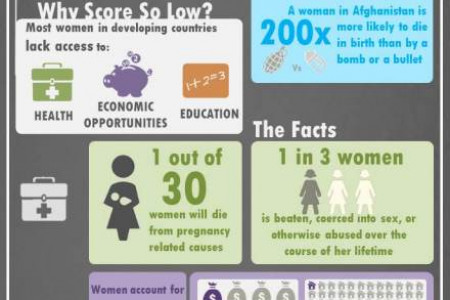 The State of Women in the World Infographic
